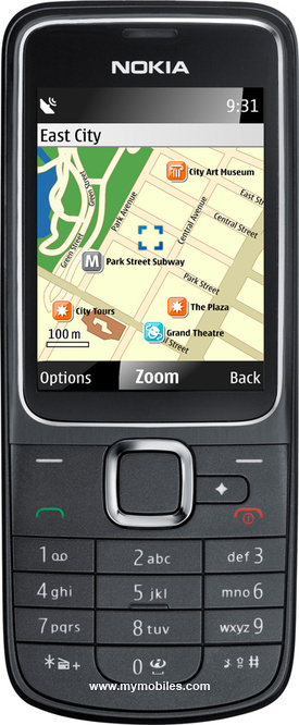 TheNokia 2710 Navigation EditionIs aMobile PhoneIn The Classical Form.