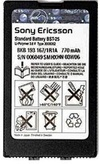 Sony Ericsson BST-25 Li-on Battery