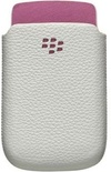 BlackBerry Blackberry 9800 Leather Pocket  With  Accent Retail Pack ACC-32840-201