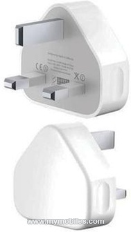 Apple 3 Pin USB Mains Adapter A1299 for Apple iPhone 3G, 3GS, 4, iPad/iPad2